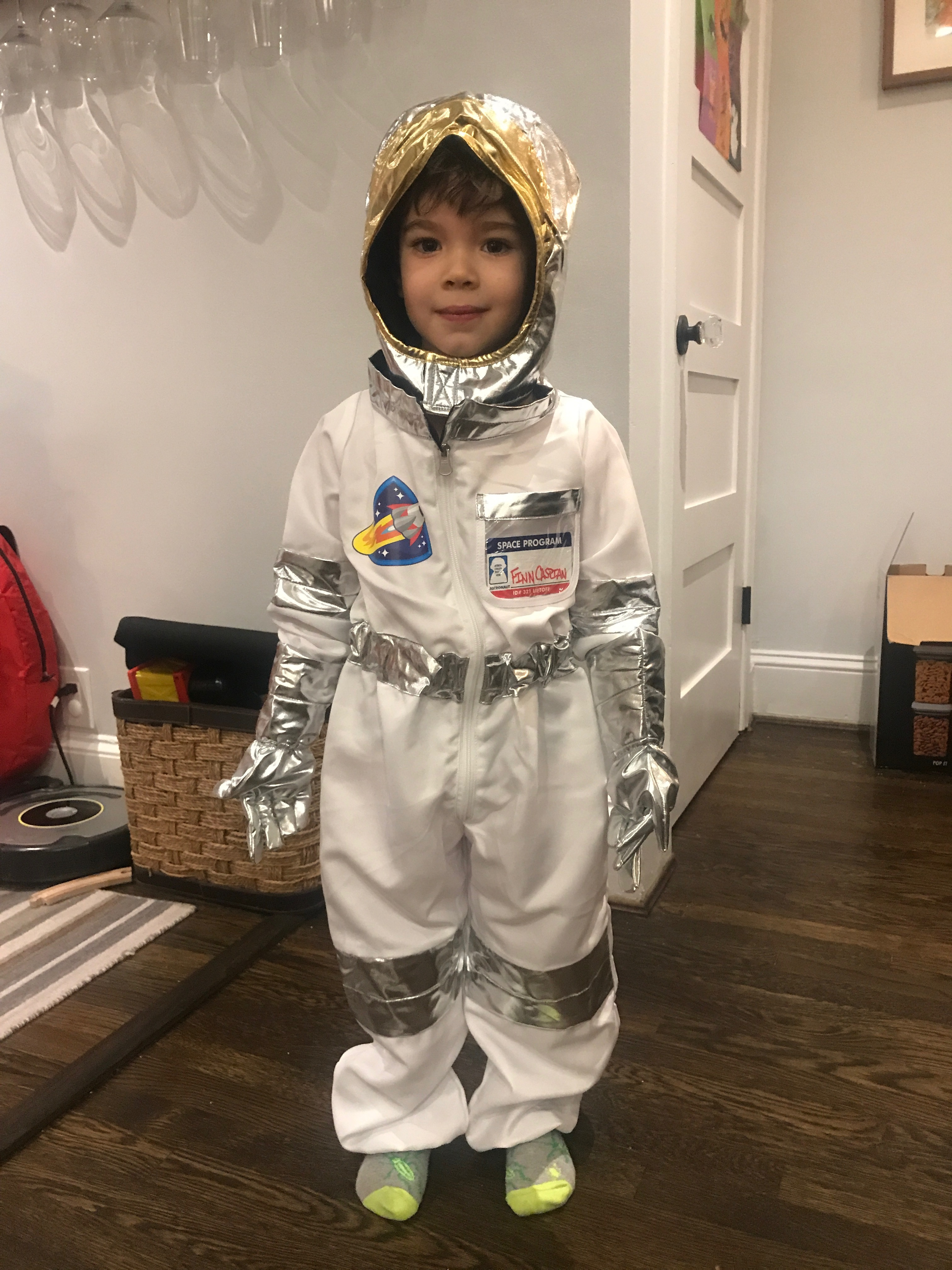 5-Year-Old Theo as Finn!